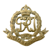 Cap Badge of the Corps of Military Police India (King George VI)