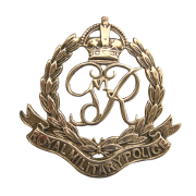 Cap Badge of the Royal Military Police (King George VI)